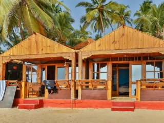 1-bedroom cottage facing the Palolem beach