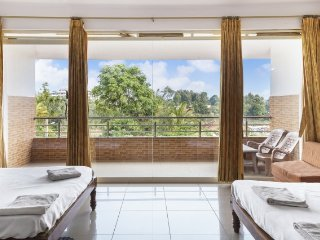 Restful retreat with a stunning view, ideal for a family
