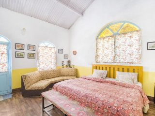 Cheerful cottage done in vibrant palette, near Ooty Lake