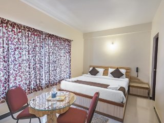 Restful accommodation with a gorgeous view of the city