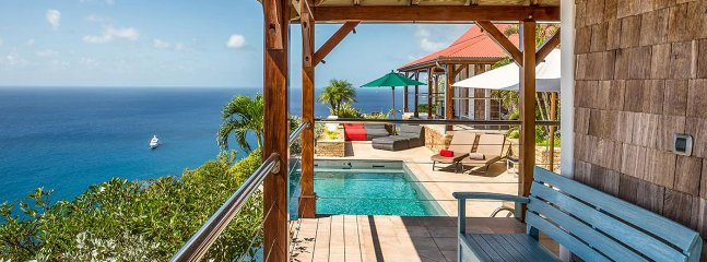 Villa Hurakan 3 Bedroom (Situated On Colombier Hillside. The Calm And The Peace