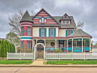 NEW! Victorian 5BR Lindsborg Home w/Gazebo & Porch