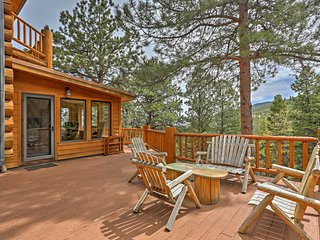 NEW! 4BR Evergreen Cabin w/ Deck & Mountain Views!