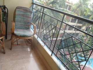 2 bed appt in well established Calangute resort,3 pools,wi fi, and all mod cons.