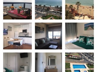 Nice apartment in 1 line beach Benalmadena Costa
