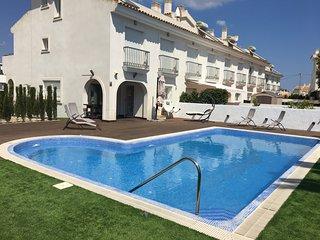 Precioso bungalow con piscina privada