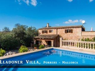 Finca Es Lladoner, Villa - Porreres - Mallorca