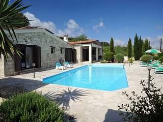 Stunning, Secluded Three Bedroom Bungalow with Pool in Paphos Countryside