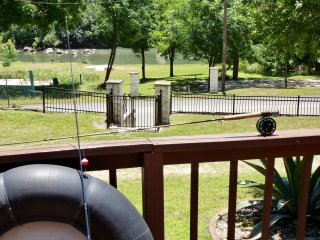 Guadalupe Riverfront!!!  Large Deck - Patio on River - Easy River Access