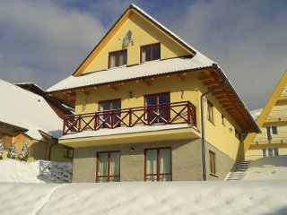 chalet near the ski slopes, Donovaly