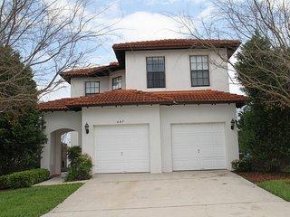 4Bed 2.5Bath home, private pool & semi private view 6 mi to Disney from $115nt, Orlando