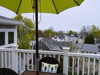 Views on High: Enjoy ocean & village views from your private roof deck., Rockport