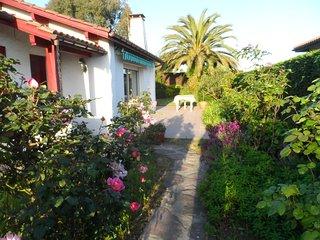maison avec jardin sur la côte basque