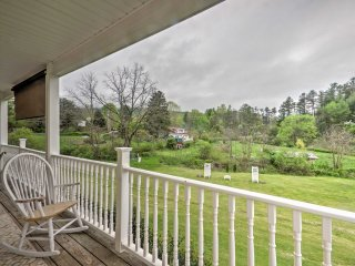 New! 3BR Weaverville House w/ Large Balcony!