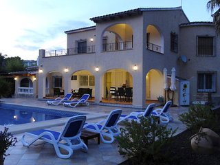 Villa Dos Angeles Moraira Luxury Villa with heated private pool