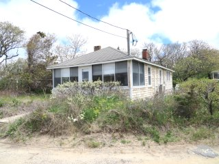 Classic Cape Cottage One House Back from Private Beach : 062-BK