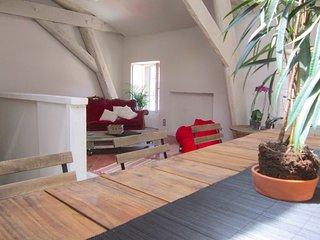 Appartement style loft de100m2 (3 chambres-3 salles de Bains)