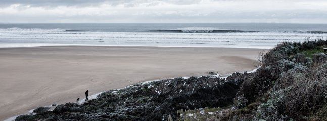 Even out of season, Woolacombe Beach is simply a stunning place to visit.