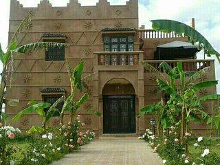 Villa piscine grand jardin, Marrakech