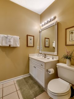 With 2 bathrooms, you'll have plenty of privacy during your stay.