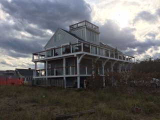 Luxurious 3 Story Beachfront Home! Newly Furnished & Captivating Views!, Plum Island