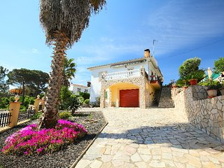 4 bedroom Villa in Lloret de Mar, Costa Brava, Spain : ref 2298943