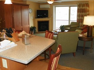 Spend New Years at Pollard Brook Condos near Loon Mountain in Lincoln NH!