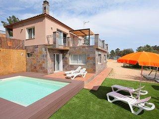 4 bedroom Villa in Lloret de Mar, Costa Brava, Spain : ref 2253103