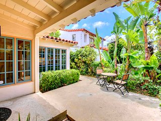 Enjoy your Morning Coffee on the Private Patio, Inside the Gated Front Entrance