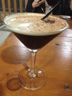 Expresso martini at Empress Bar Devonport