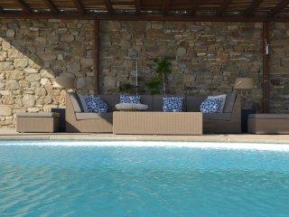 Mykonos Crystal Resort - Villa con Vista Mozzafiato