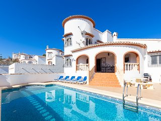 4 bedroom Villa in Denia, Costa Blanca, Spain : ref 2028137, Llosa de Camacho