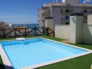 Apartment with Pool,150m from the beach.