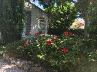 Maison au calme avec jardin tres proche d'Avignon centre