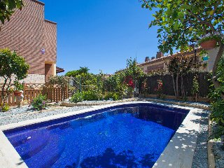 4 bedroom Villa in Sant Vicenc de Montalt, Barcelona Costa Norte, Spain : ref