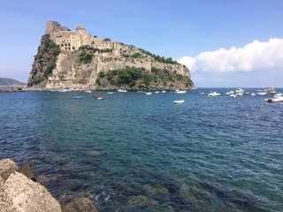 Few steps from the Aragonese castle, Ischia