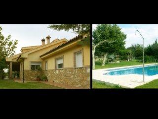 Finca Carmen: casa para 12 personas, San Roman de los Montes