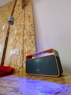The powerful bluetooth speaker at disposition, you can connect your device for listen your music!!
