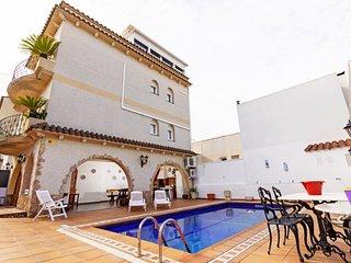 3 bedroom Villa in Blanes, Costa Brava, Spain : ref 2379806