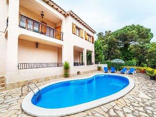 4 bedroom Villa in Lloret de Mar, Costa Brava, Spain : ref 2379203
