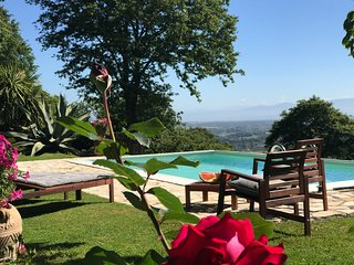 IDYLLIC SUMMER COTTAGE CLOSE TO ROME INFINITY POOL WITH FANTASTIC VIEW