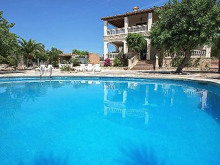 5 bedroom Villa in Son Carrió, Balearic Islands, Spain : ref 5030027
