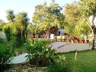 Casa de lujo para 2-4-6  con jardín  y  barbacoa a 7 minutos de la Playa.