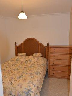 Bedroom # 2 w king size bed and bathroom en suite