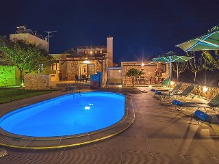 3 bedroom Villa in Stavromenos, Rethymno, Crete, Greece : ref 2253491