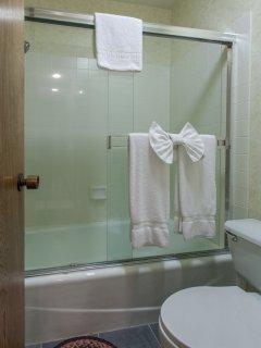 Master Bathroom #1- En-suite full Bathroom- Downstairs