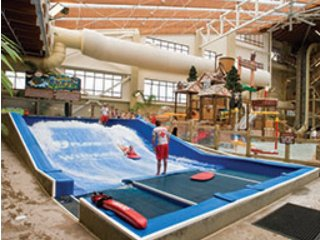 Family Fun in the Waterpark Year-Round Indoors or Outdoors!