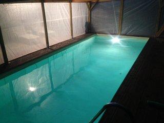 Miniloft avec piscine privee