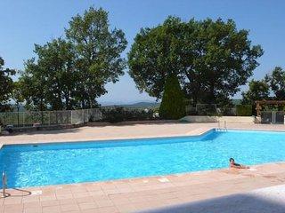 Maison 2 pièces dans résidence avec piscine