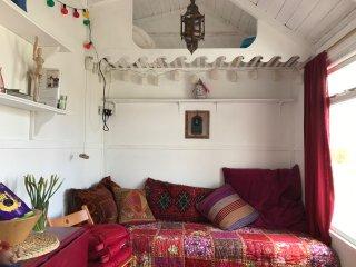 Hippy beach shack, St Erth